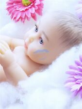 Reborn Reallife TPE silicone Baby doll 48cm girl LIMITED EDITION
