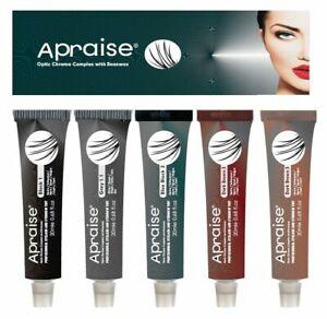 Apraise Eyelash & Eyebrow Tint Dye All Colors Tinting Dye Tint Lashes Dye Tint**