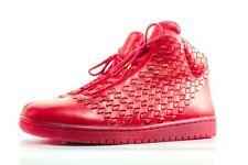 2014 Nike Air Jordan Shine SZ 14 Red LUX Leather Retro Luxury QS 689480-600