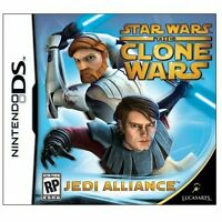 Nintendo DS Star Wars The Clone Wars Jedi Alliance Video Game Rated E