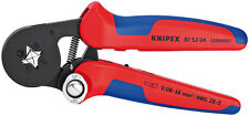 Knipex 975304 Self-Adjusting Crimping Pliers For End Sleeves 7 1/4 In