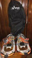 """Mountain Profile Yukon 8x21"""" Snowshoes w/Case, never used, great condition."""