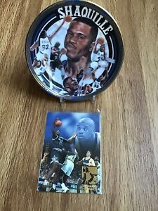 Shaquille O'Neal 1992 Rookie Season Collector Plate & FLEER ULTRA 93-94 Card