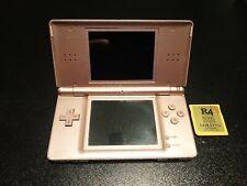 Nintendo DS Lite Metallic Rose w/ R4 Card