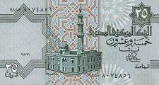 EGYPTE/P054 // Billet de 25 PIASTRES-80/84