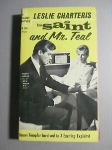 The Saint lot of 2 PB -Saint & Mr. Teal -Brighter Buccaneer -Roger More Covers