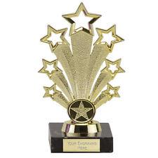 GOLD STAR FANFARE PRESENTATION TROPHY DANCE DRAMA AWARD FREE ENGRAVING FG710.01
