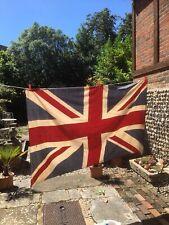 More details for vintage large printed union jack flag
