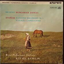 HMV ASD 347 ED 1 AUS PR. BRAHMS HUNGARIAN DANCES DVORAK KUBELIK RPO EX COND