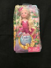 Barbie DKB57 Endless Hair Kingdom Chelsea Doll Pink NEW Sealed AS-IS toy blonde