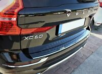 Volvo XC-60 Facelift 07/2017- Chrome Rear Bumper Protector Scratch Guard S.Steel