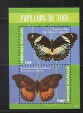 Togo / 2014 Butterflies Of Togo . Souvenir Sheet . MNH