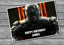 Personalised Call Of Duty COD Video Game  Birthday Card A5 Large Your Name