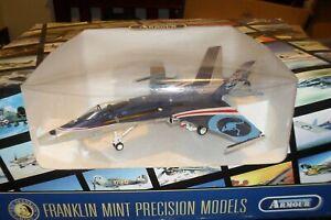 FRANKLIN MINT DIE CAST AIR CRAFT 1:48 F18 20TH ANNIVERSARY HORNET RAAF