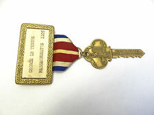Vintage VFW 59th National Convention Massachusetts 1958 New York City Key Ribbon