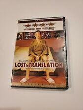 Lost in Translation (Dvd, 2004 Widescreen) Bill Murray, Scarlett Johansson - New
