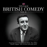 Vintage British Comedy Vol.9 CD Peter Sellers Max Miller Classic Collection Gift