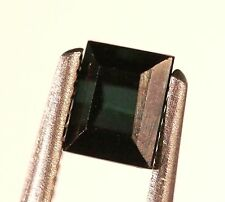 Ct 0.95 ,BEAUTIFUL! Princess Cut shaped Indigolite/Blue tourmaline 50% Discount!