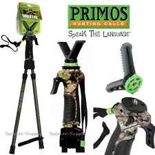 "Primos Gen2 Short Bipod Trigger Stick 18 - 38"" Gun Rest Camera Scope Mount 65803"