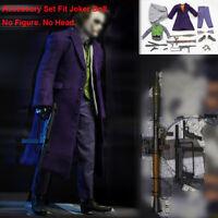 1/6 Accessory Set of Joker Clown Batman Series Poker Gun Model No Figure No Head