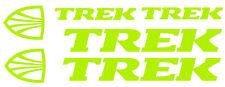 6 pegatinas de vinilo Amarillo fluorescente TREK  para bicicleta,  no 582