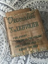New listing Vintage Decoralite By Lightolier Lighted Picture Frame with Horses Painted Glass
