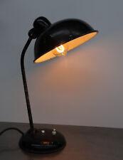 Antike Helo Leuchte Tischleuchte Lampe Industrie Design Art Deco Bauhaus 1930er