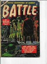 Battle  #37  last pre-code  Kubert & Heath art