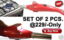 Set of 2 Pc- 2 in 1 Dolphin Shape Kitchen Electronic Gas Lighter LED Torch SPARK