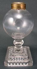 Whale Oil Miniature Lamp Boston Sandwich American Antique Glass Lighting 19th C