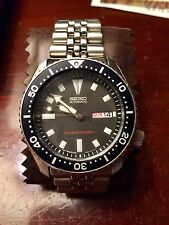 Working Vintage 7526-0029 Seiko 200m Automatic  Divers Watch Extra Links