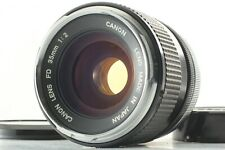 *NEAR MINT*  Canon FD 35mm f/2 Wide Angle MF Prime Lens FOR SLR From Japan #R227