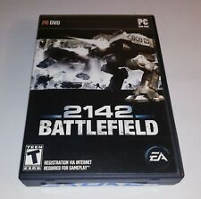 BATTLEFIELD 2142 PC DVD-Rom 2006 Windows Action Game First Person Shooter
