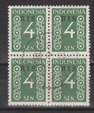 Indonesie Indonesie 45 RIS sheet CANCEL DJAKARTA 1950 R.I.S Serikat