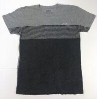 O'Neill / Men's T-Shirt / Short Sleeve L / Black Gray Stripe