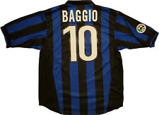 Maglia Baggio Inter 1998 1999 Nike Away Shirt Jersey Serie A no match worn issue