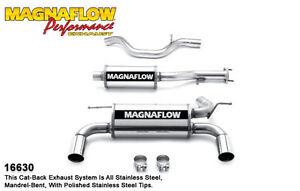 Magnaflow 16630 Cat-Back Exhaust System 2006-2010 Hummer H3 L5 3.5L Dual Muffler