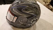 Altura Vega Black Blue Silver S Small Motorcycle Helmet