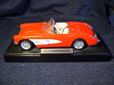 SUNNYSIDE LTD 1957 Red CHEVROLET CORVETTE  1:24 Diecast Model SS7708W VGUC