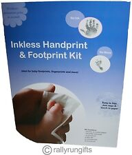 PREMIUM Baby FOOTPRINT handprint INKLESS KIT NO MESS  Feet Hand BABY Print Kit