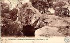 CPA 77 NEMOURS rochers de chaintreauville la grotte