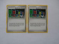 Carte Pokemon Recherche d'énergie Diamant et Perle Aube Majestueuse x 2 !!!