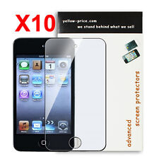 10x Apple iPod Touch 4 Gen ReuableClear Screen Protectors Japanese Material