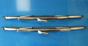 Lancia Flaminia Wiper Blades. Genuine TEX. NEW (Pair)