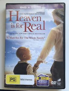 Heaven Is for Real - Region 2, 4, 5 DVD - Greg Kinnear - 2014 - True Story