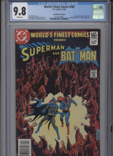 WORLDS FINEST COMICS #286 MT 9.8 CGC HIGHEST 1 OF 1 CANADIAN PRICE VARIANT WHITE