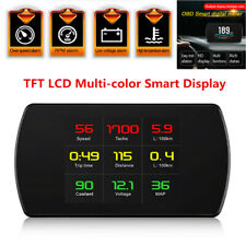 OBD2 HUD Head-up Display Car Speedometer Smart Digital LCD Display Speedometer
