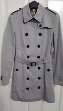 Burberry London Sandringham Slim Double Breasted Trench Coat Size 10 US, NWT