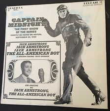 1971 Capt. Midnight Jack Armstrong RADIOLA CO Release #6 Adventure Series #1
