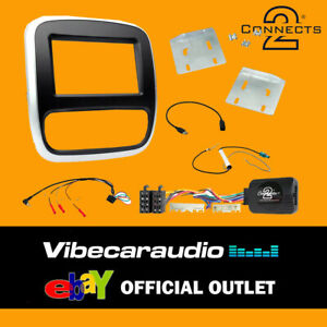 CTKVX38 Complete Double Din Stereo Fitting Kit For Vauxhall Vivaro 2014-2018